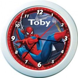 Spider-Man Personalised Clock - Personalised Clocks - Your Home | Buy Online with Identity Direct Australia