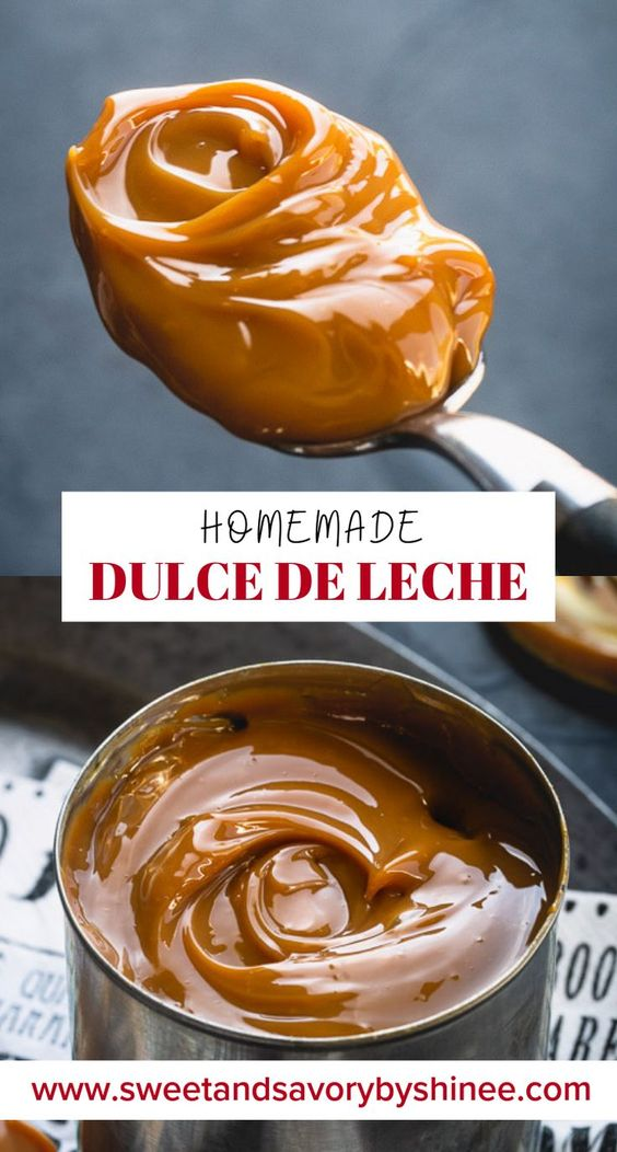 The BEST Way To Make Dulce de Leche ~Sweet & Savory