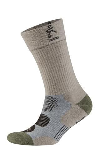 AMG (Size W 10) Balega Outdoor Moh-rino Performance Crew Sock