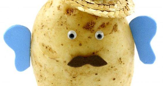 Homemade Mr. Potato Head | Sensory and Kids
