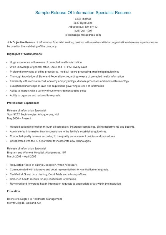 personnel security specialist sample resume node2002-cvresume - personnel security specialist sample resume