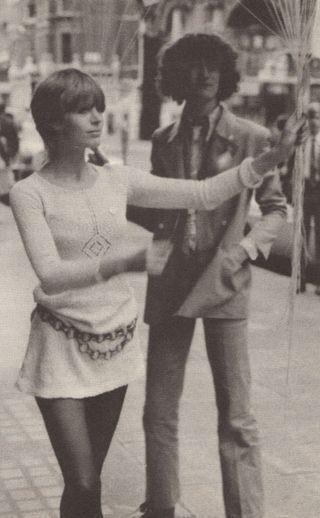Marianne Faithfull London England 1960's