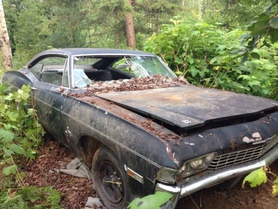 1968 Chevy Impalla Maintenance Restoration Of Old Vintage