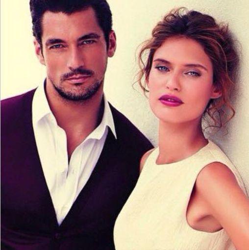 David Gandy and  Bianca Balti for @dolcegabbana Light Blue