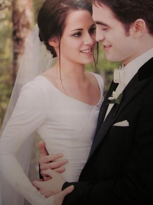 """""""It's this feeling I had that it was like a real wedding.  I have these memories of it that are not in keeping with a movie set. It feels like my memories. You have room in your mind for character, and then there's room for yourself. That memory is definitely more mine."""" - Kristen Stewart"""