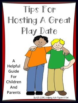 Story And Activity For Hosting A Great Play Date!This is a bit more than a social story. It is a guide for children who struggle to have a successful play date. This story includes explanations, DO's and DON'TS and suggestions for parents. Read before and after your child's play dates for greater understanding.