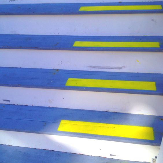 Stair color!