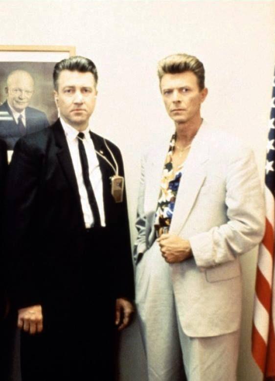 #David Lynch & #David Bowie                                                                                                                                                      More