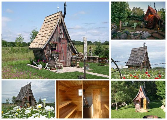 it looks like a kids playhouse love the work of dan pauly from the rustic