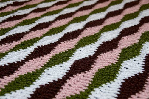 Knitted Ripple Afghan Pattern Free : indian blanket afghan pattern CROCHETING FREE NAVAJO PATTERN Crochet and ...