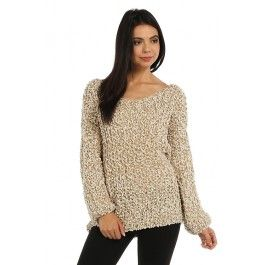 http://www.salediem.com/shop-by-size/small/cozy-pattern-marled-knit-boxy-sweater.html #salediem #fallsweaters