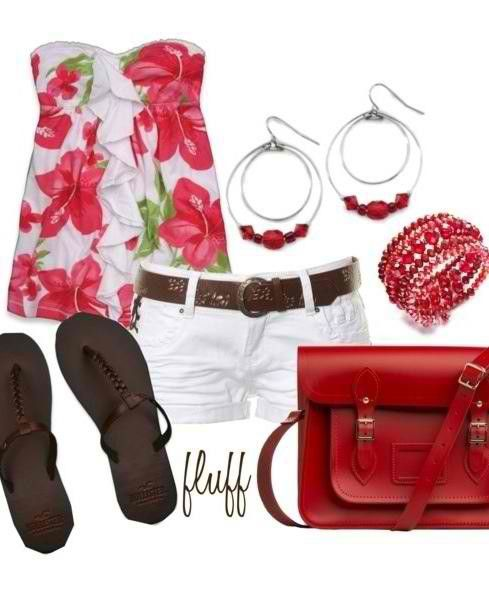trendy summer outfit