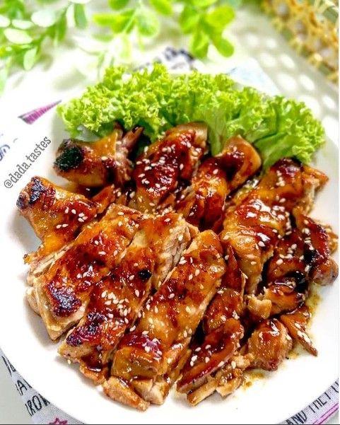 Saus Ayam Panggang Di 2020 Resep Masakan Ayam Panggang Resep Ayam