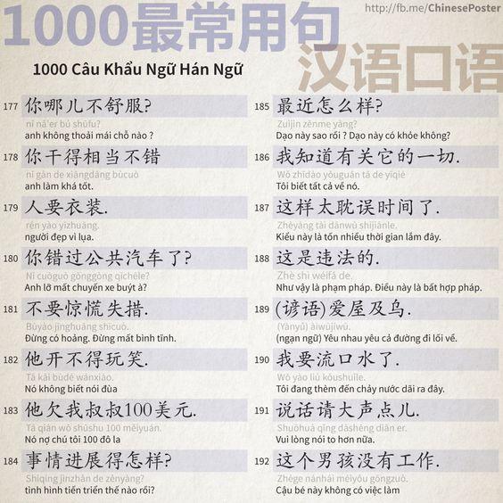 1000 Câu Khẩu Ngữ - Phần 12: