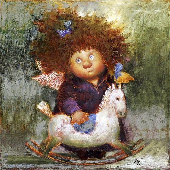 Gallery.ru / АНГЕЛЫ ГАЛИНЫ ЧУВИЛЯЕВОЙ - АНГЕЛЫ ГАЛИНЫ ЧУВИЛЯЕВОЙ - iriska1261: