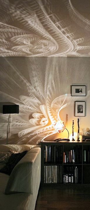 Patterns of light beautiful patrones and lighting - Cool lighting effects for your room ...