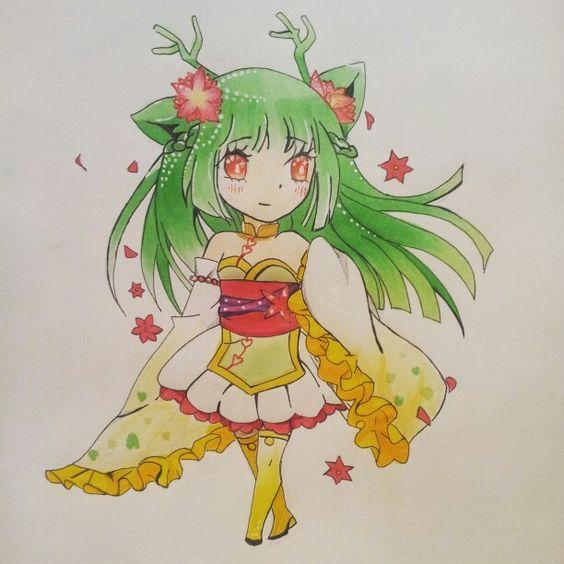 Die erste Chibi Zeichnung die gut aussieht