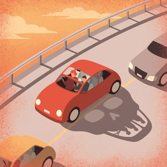 Davide Bonazzi - Dangerous driving. Client: WIred UK: