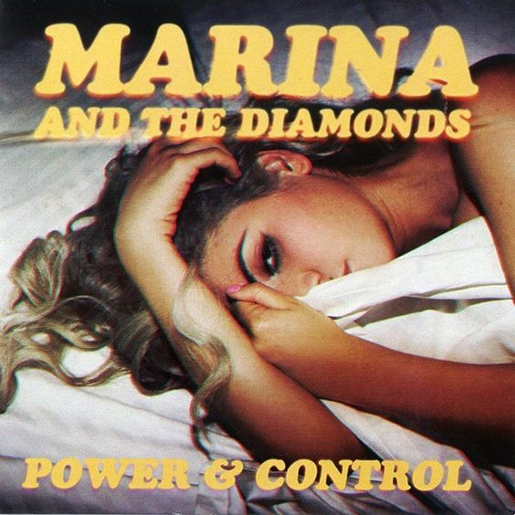 Marina and the Diamonds – Power & Control (single cover art)