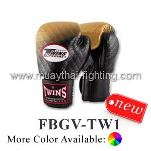 Twins Special Fancy Boxing Gloves LOGO Twins Special 2013