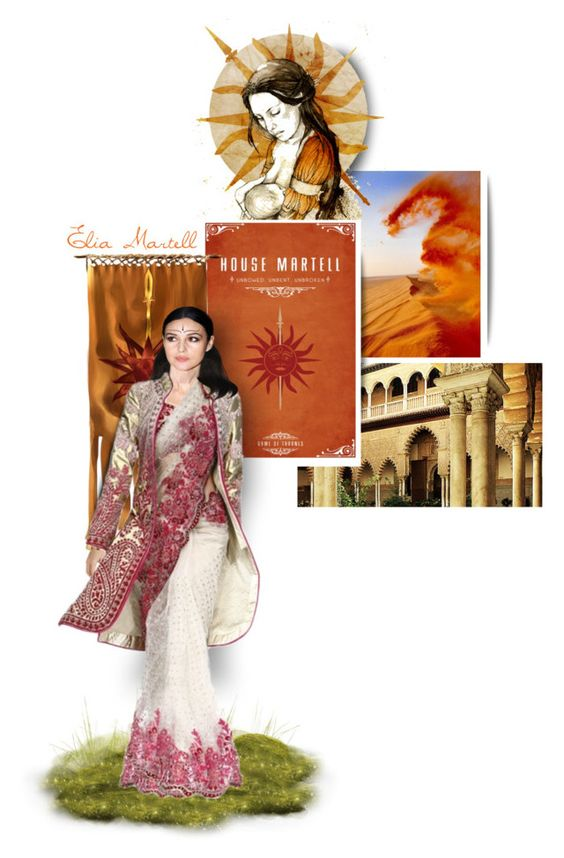 """Elia Martell"" by georginamaybrown ❤ liked on Polyvore featuring art"