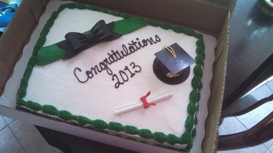 Cake Decorating Classes In Lakeland Fl : Graduation Cake from Sams club What I am sharing with ...