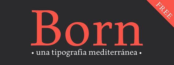 Born Tipografía - Carlos de Toro