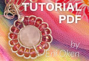 Pink Daisy Pendant PDF