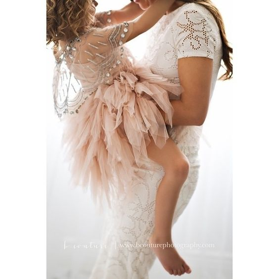 The Swan Queen Tutu Dress in Nude, a classic piece to make memories. A beautiful moment of Mother-Daughter love by @bcouturephoto. #tutudumonde #tutucute #motherdaughterlove #swanqueen