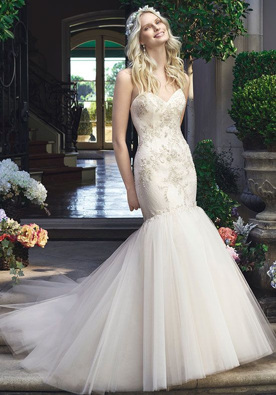 I found this wedding dress on The Knot