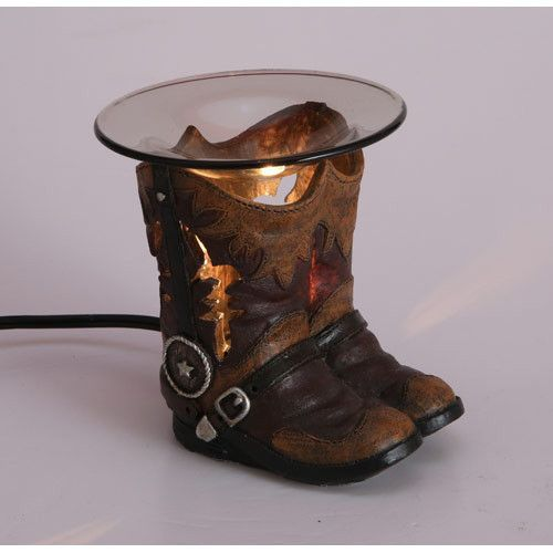Cowboy Boots Oil Warmer