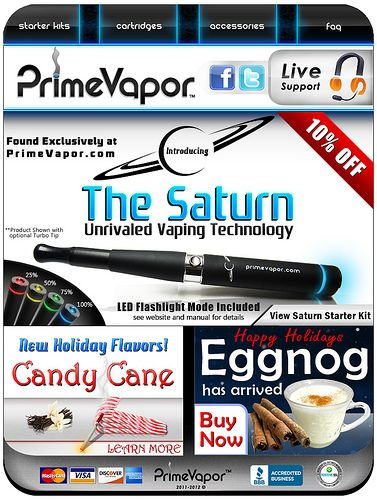 Here is the ultimate electronic cigarette system. Incredible performance and exclusive SmartCharge indicators. See it at www.primevapor.com/saturn-e-cigarette-starter-kit-black-m....   -If you are looking for an e-cigarette then you definetely need to visit www.e-cigarilicious.com