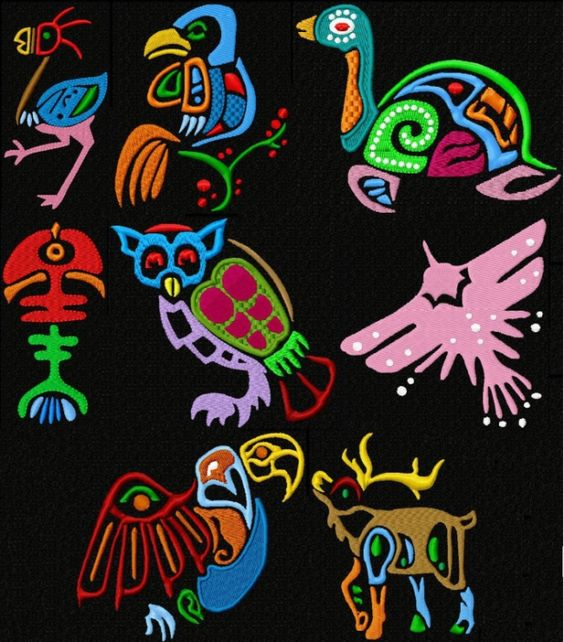 African Children 2 African Embroidery Cool Machine Embroideries