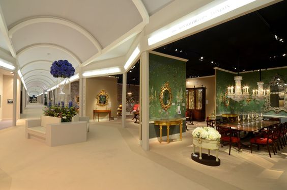 An aisle view of Masterpiece London 2012.: