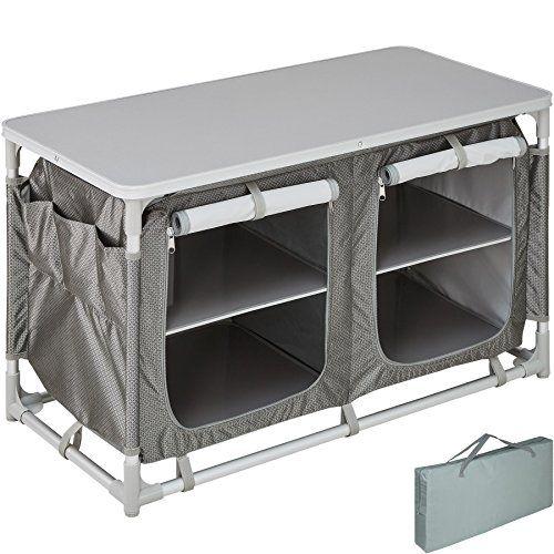 Tectake 800585 Cuisine De Camping Meuble De Jardin Divers Modeles Type 4 N 402922 Meubles De Camping Armoire De Cuisine Meuble Exterieur
