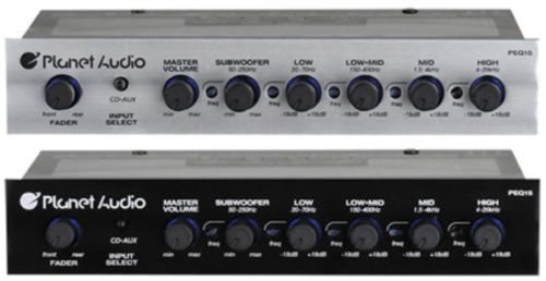 Equalizers: Planet Audio Peq15 5-Band Parametric Equalizer BUY IT NOW ONLY: $61.0