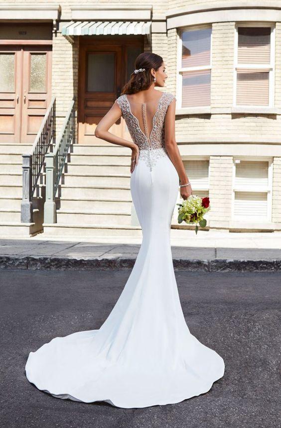 so elegant and lovely wedding dresses