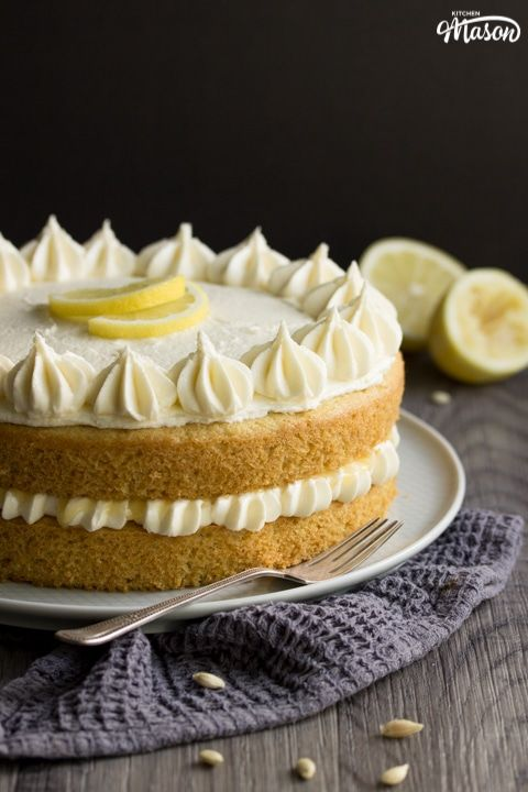 Magnificent The Best Ever Dairy Free Vegan Lemon Cake Recipe With Images Funny Birthday Cards Online Inifodamsfinfo