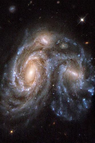 hubble telescope galaxies colliding - photo #18