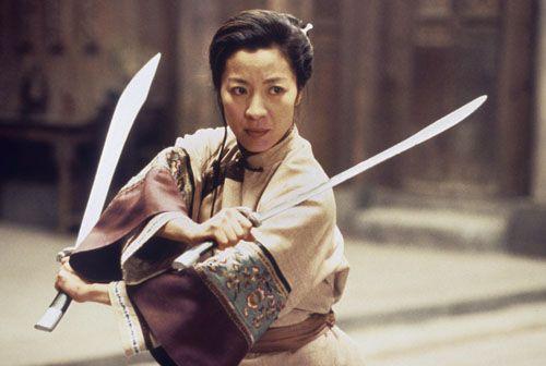 Michelle Yeoh as Yu Shu Lien in Crouching Tiger Hidden Dragon