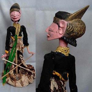 rod puppets | Holzpuppe Wayang Golek aus Indonesien rod puppet gy69 | eBay