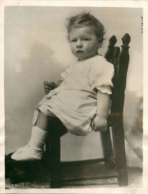 Prince Michael of Romania.  Precious!
