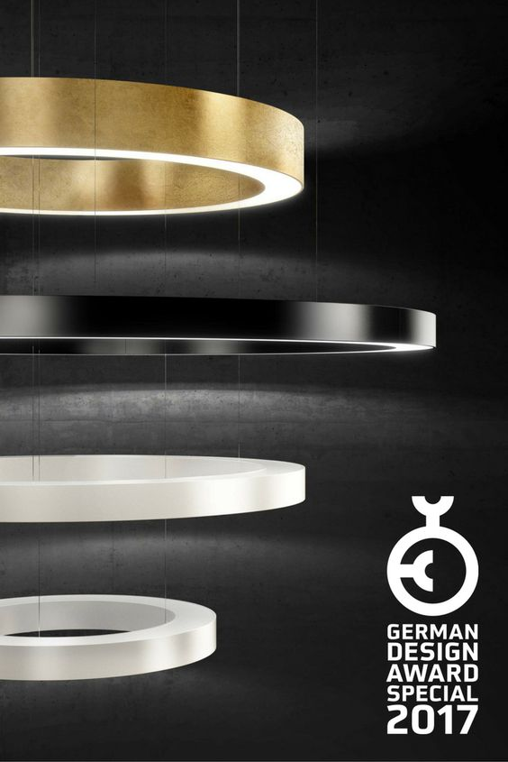 The range of Ring lamps by Panzeri has received a special mention - led deckenlampen küche