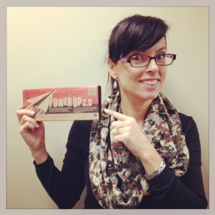The best employee gift ever is a powerup electric powered paper airplane. via @Halogen Software
