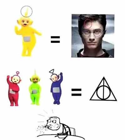 9. Harry Potter Is A Teletubby