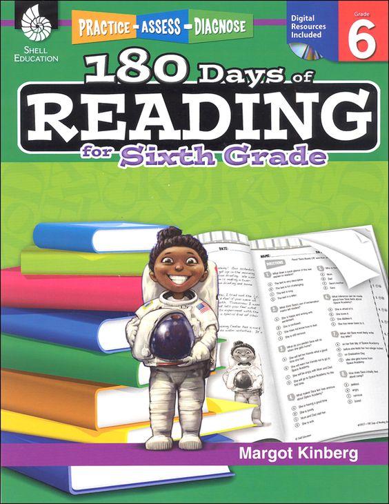 180 Days of Reading Grade 6