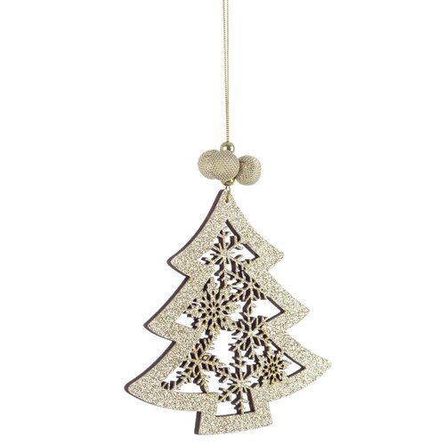 The Seasonal Aisle Pine Holiday Shaped Ornament Ornament Hooks Luxury Christmas Tree Christmas Tree Baubles