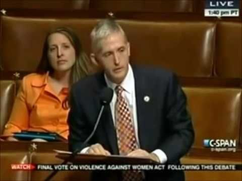 SHOCKING Introduction To Congressman Trey Gowdy! - YouTube
