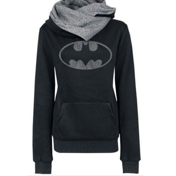 Long Sleeve Batman Printed T-Shirt