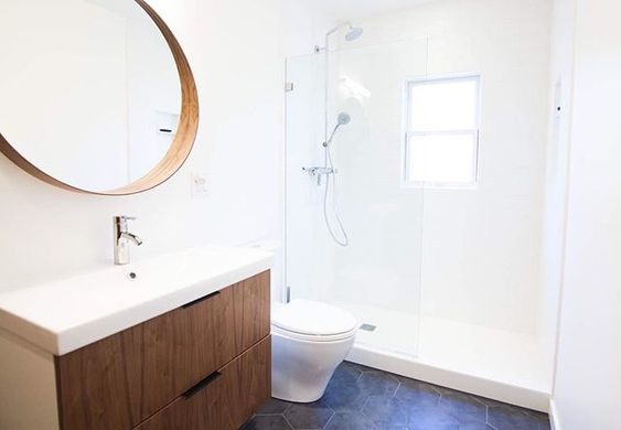 Throwback To One Of Our Very First Client Bathroom Projects